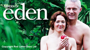 Naturist experience at the Eden project