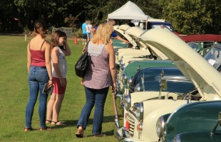 Car Show at Capel Manor College