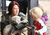 Fun for all the family at Easter Lambing Forty Hall Farm