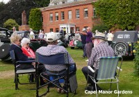 Car Show at Capel Manor Gardens
