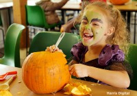 Pumpkin Carving at Capel Manor College and Gardens