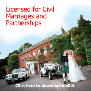 Capel Manor is Licensed for Civil Marriages and Partnerships