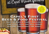 Beerfest at Capel Manor Gardens Enfield