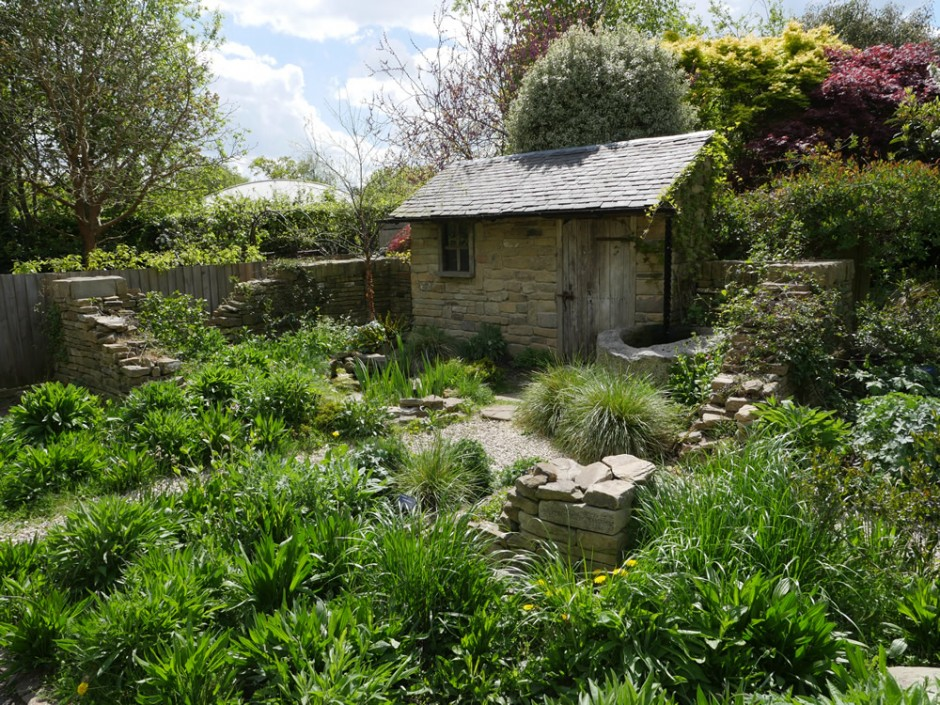 The Naturally Dry Garden sponsored by Affinity Water at Capel Manor