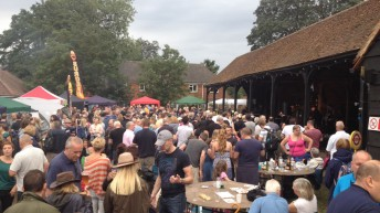 Beer and Blues Festival at Forty Hall Farm