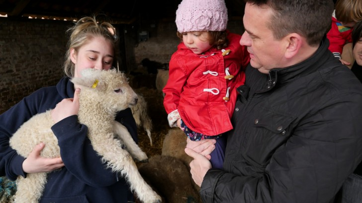 Images of Lambing Weekend 2015