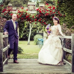 Weddings photography at Capel Manor Gardens