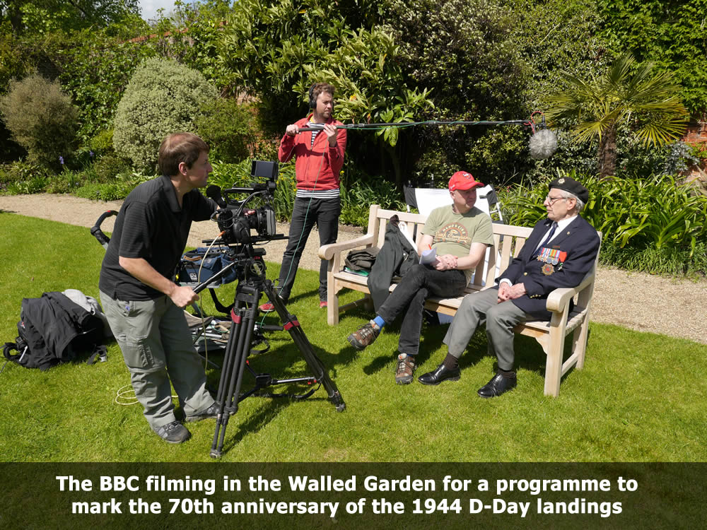 The BBC filming a programme to mark the 70th anniversary of the 1944 D-Day landings.jpg