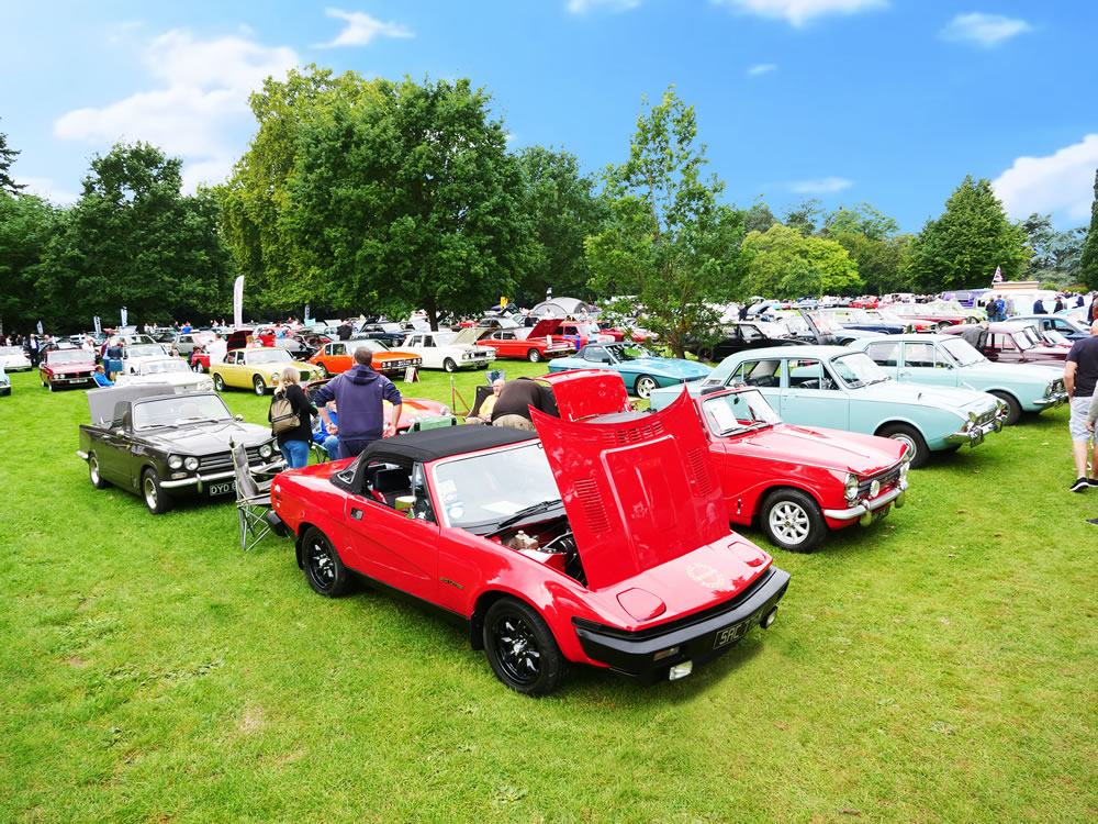 Capel Manor Car Show